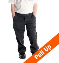 Pull Up School Trousers