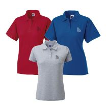 Balcarras Girls Sixth Form Polo Shirt- Red, Grey or Royal Blue Sizes 8-18