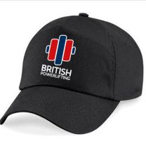 British Powerlifting Official Embroidered Cap