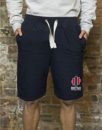 British Powerlifting Casual Shorts – Embroidered