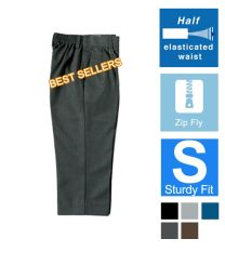 Zeco Half Elasticated Sturdy Fit Trousers