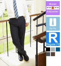 Trutex Flat Fronted Trousers